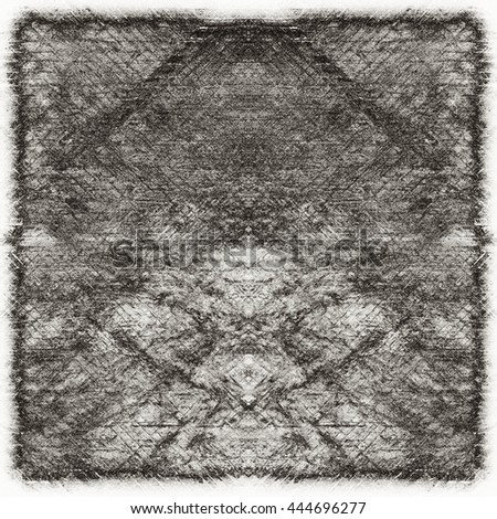 Dark Grunge Geometric Pattern