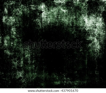 Dark Grunge Scratched Texture Background With Frame