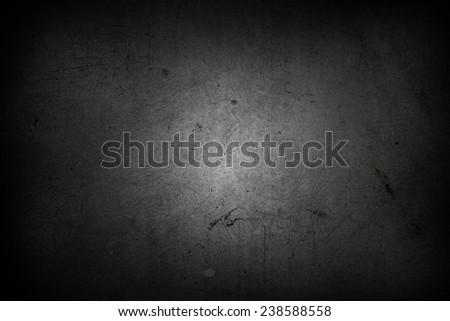 Dark grunge textured wall closeup  - stock photo