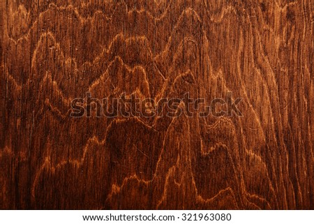 Dark grungy plywood background texture - stock photo