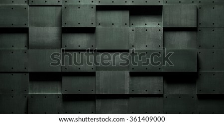 Dark Horror-Style Grungy Background - stock photo