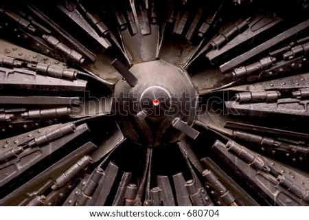 Dark Machine - stock photo