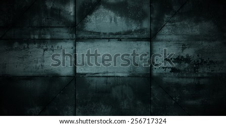Dark Metal Background - stock photo