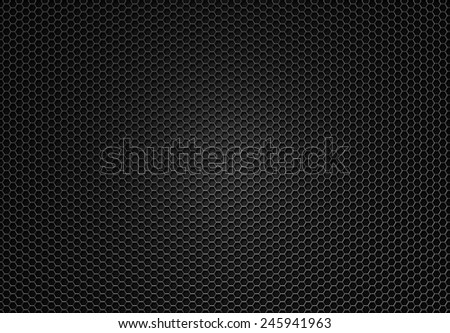 Dark metal grating stock image.