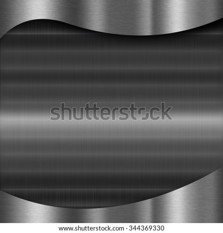 Dark metal texture background for use in various applications and design products - stock photo