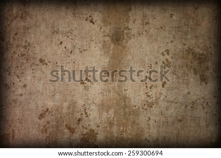 Dark old grunge wall background or texture.  - stock photo