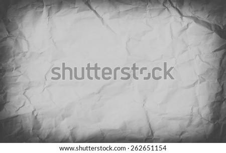 dark Old paper texture. Vintage texture. - stock photo