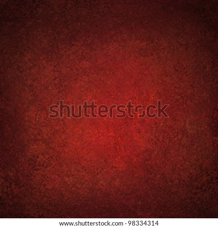 dark red background of abstract vintage grunge background texture old red paper with soft distressed painted Christmas background art or faded Valentine's day card or web template background design - stock photo