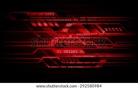 dark red color Light Abstract Technology background for computer graphic website internet and business. circuit. illustration. digital. infographics. binary code background. www - stock photo