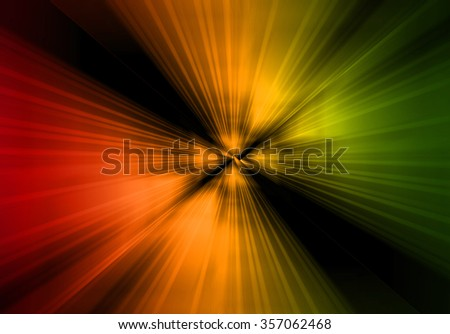 Dark red yellow green Light Abstract Technology background for computer graphic website internet and business. move motion blur. zoom