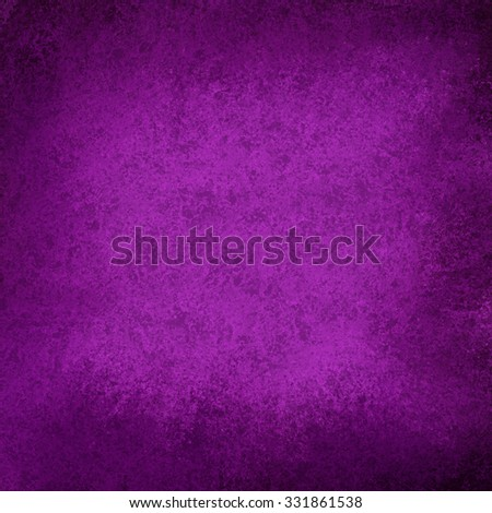 dark royal purple background with black faded grunge borders - stock photo