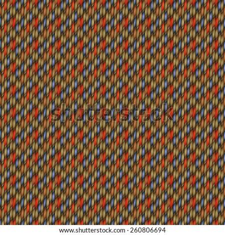 dark seamless weaving texture pattern wood  or hair - stock photo