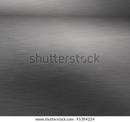 Dark Sheet Steel Background - stock photo