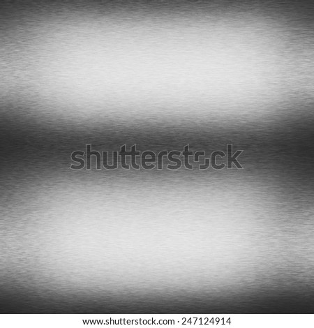 dark silver metal texture background decorative lighting effects - stock photo