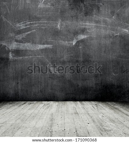 dark space background - stock photo