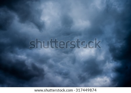 dark storm clouds before rain, background clouds