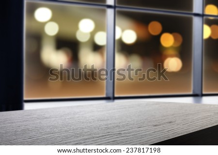 dark top and window space  - stock photo