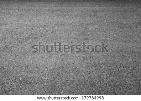 Dark urban asphalt road background photo texture - stock photo