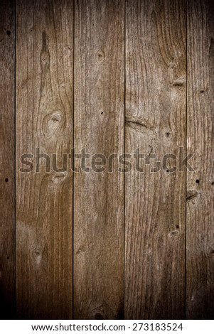 dark vignette wood texture, background - stock photo