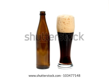 Dark wheat beer is a speciality in Bavaria