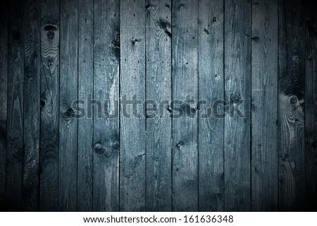 Dark Wood Background (Horror Style)  - stock photo