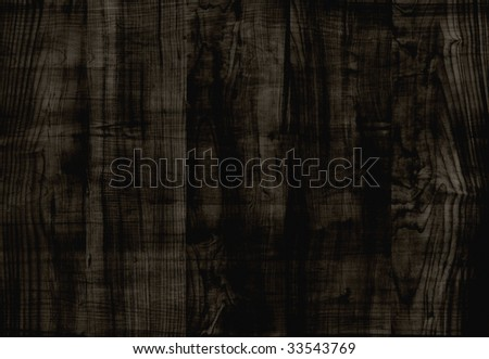 Dark wood. Backgrounds and textures. - stock photo