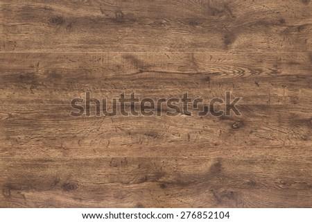 dark wood floor - stock photo