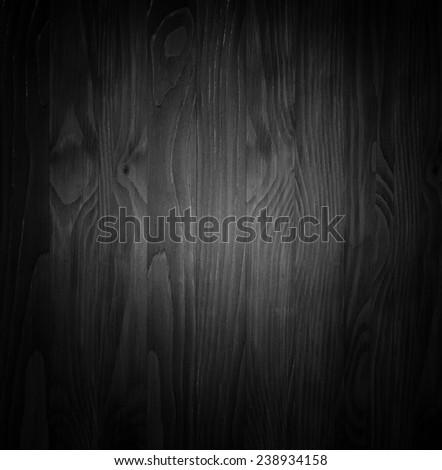 dark wood panels in black and white. - stock photo