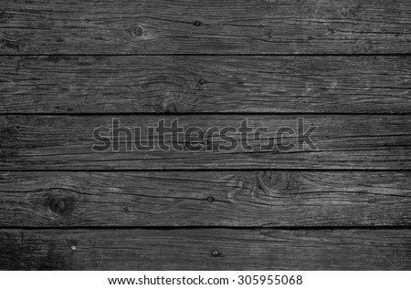 Dark Wood Pattern Background Texture - stock photo