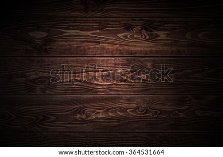 Dark wood plank texture  - stock photo