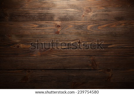 dark wood texture. background old panels - stock photo