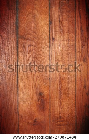 Dark wooden board, background  - stock photo