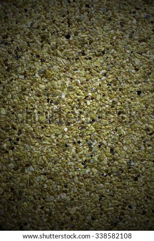 dark yellow cement floor background