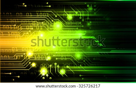dark yellow green color Light Abstract Technology background for computer graphic website internet and business.circuit. illustration. abstract digital. infographics. motion move blur.neon.