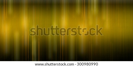 dark yellow light and stripes moving fast over dark background. illustration. horizontal blur. motion move. technology - stock photo