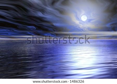 darkness water