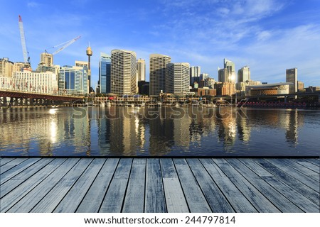 Darling Harbour, Sydney - stock photo