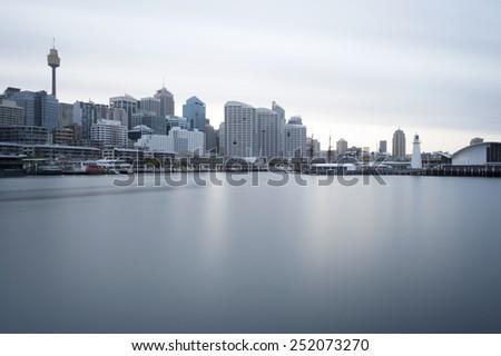 Darling Harbour Sydney Australia - stock photo