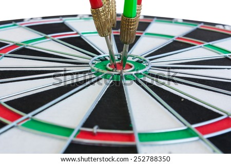 dart go to target go to success - stock photo