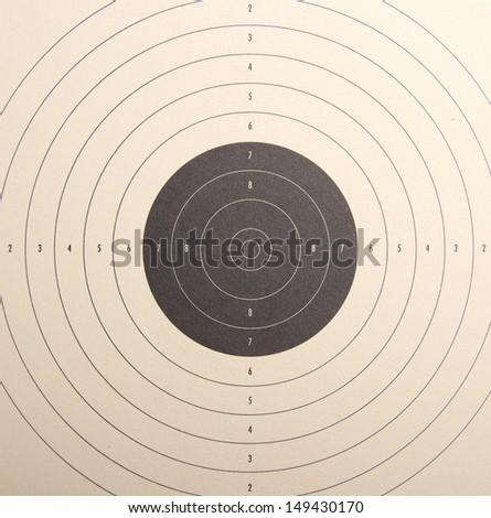 dartboard - stock photo