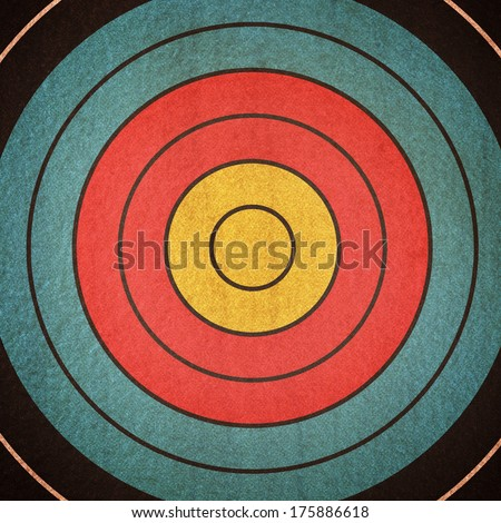 Dartboard background in the color - stock photo