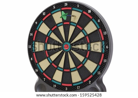 Darts game, number 1 - stock photo