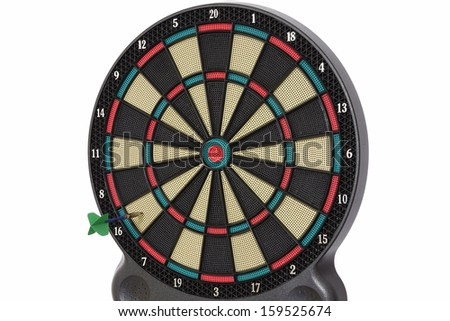 Darts game, number 16 - stock photo