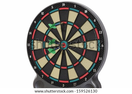 Darts game, 110 points - stock photo