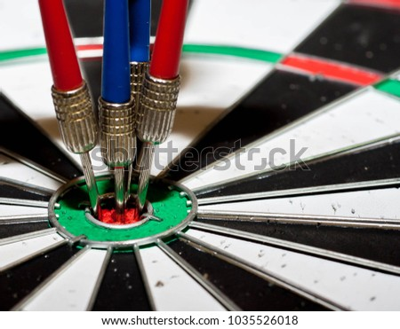 Darts in the middle