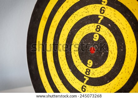 darts target  - stock photo