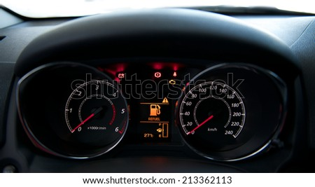 Dashboard Lights Stock Images RoyaltyFree Images Vectors - Car image sign of dashboardcar dashboard icons stock photospictures royalty free car
