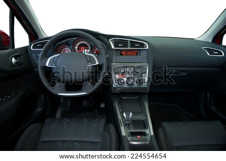 dashboard, car interior