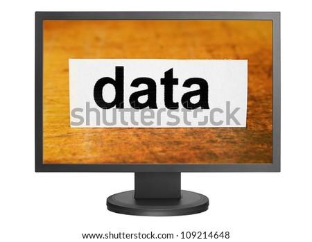 Data - stock photo