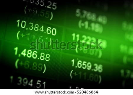 Data analyzing in forex market with magnifying glass, pen and calculator: the charts and summary info on paper. Charts of financial instruments for technical analysis.